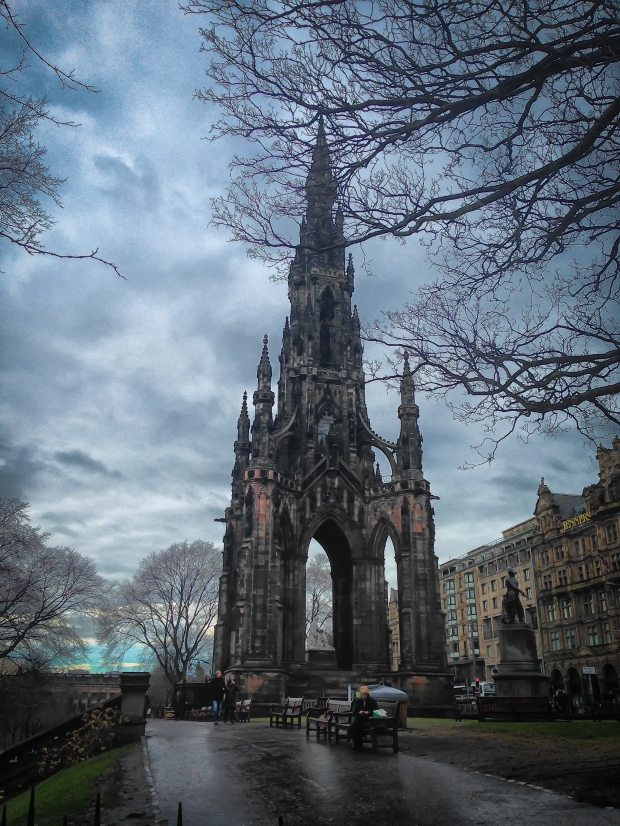 Day 77 - The Scott Monument